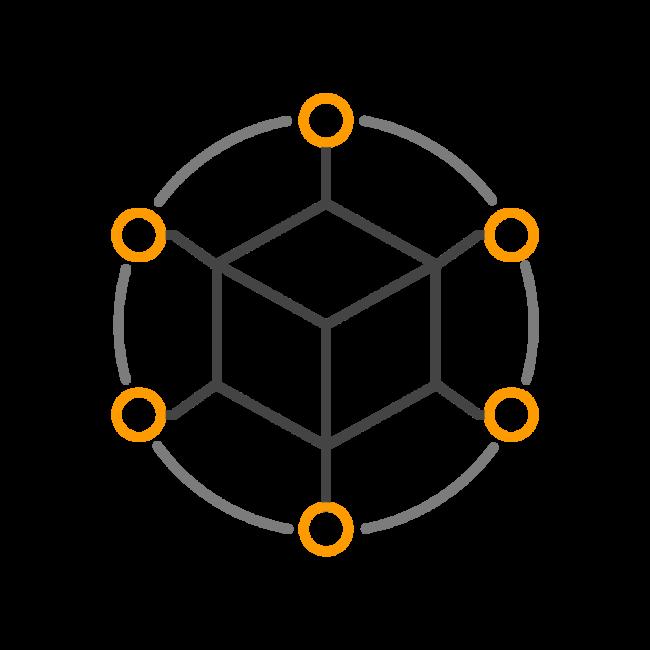 Data and API icon.